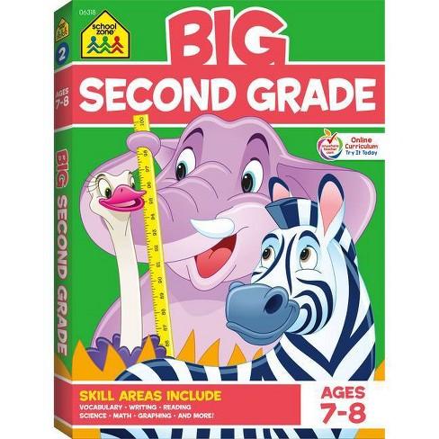School Zone Big Second Grade Workbook - Paperbook - image 1 of 1
