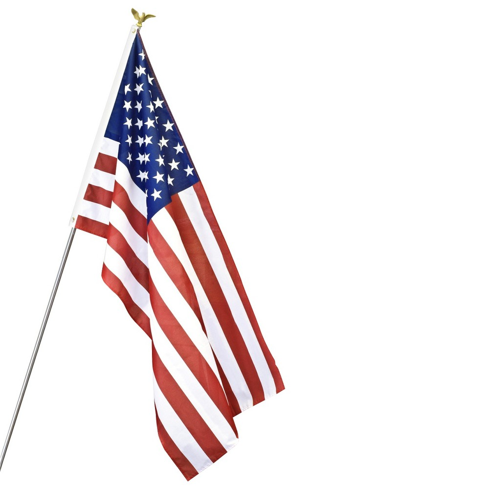 Image of Halloween Annin - American Flag Set - 3' x 5'