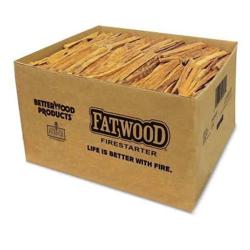 Betterwood Products 9910 Fatwood 10-Pound Firestarter