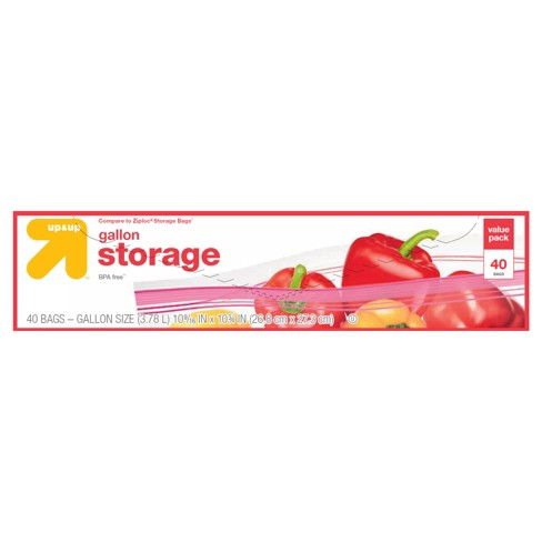 Gallon Storage Bags - 40ct - Up&Up™ - image 1 of 1
