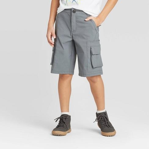 Boys' Techy Stretch Cargo Shorts - Cat & Jack™ - image 1 of 4