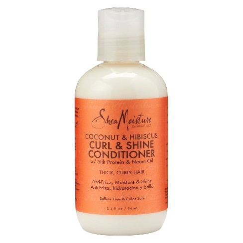 SheaMoisture Coconut & Hibiscus Curl & Shine Conditioner - 3.2 fl oz - image 1 of 1