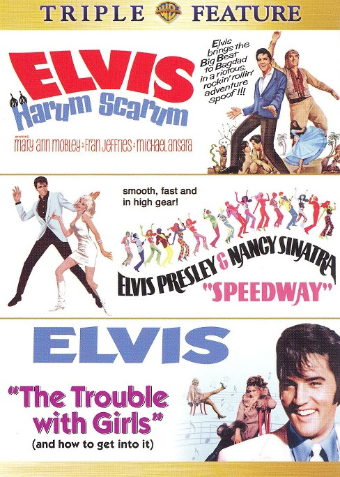 Elvis Triple Feature: Harum Scarum/Speedway/The Trouble With Girls [2 Discs] - image 1 of 1