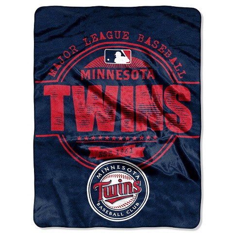 "MLB Minnesota Twins Throw Blanket - 46""x60"" - image 1 of 1"