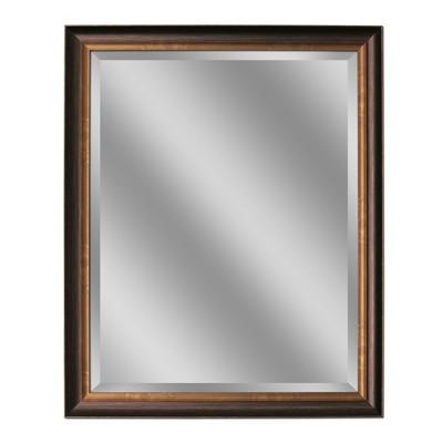 "26"" x 32"" Oil Rubbed Bronze Mirror - Head West"