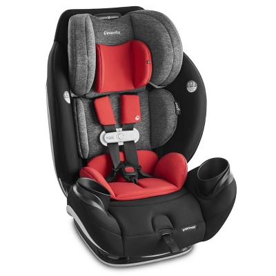 Evenflo Gold EveryStage Smart All-in-One Convertible Car Seat - Garnet