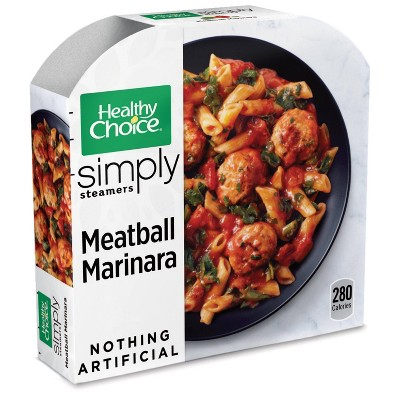 Healthy Choice Simply Steamers Frozen Meatball Marinara - 10oz