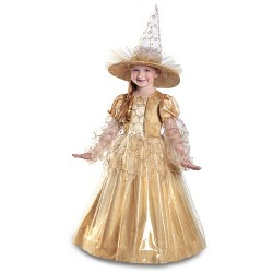 a9666d74d Girls' Mila the Gold Witch Halloween Costume - Princess Paradise