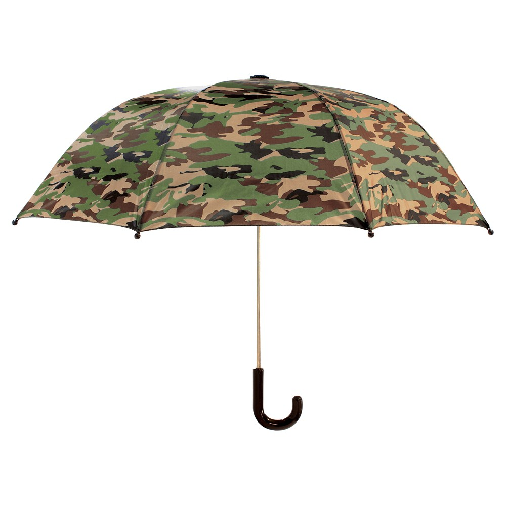 Image of Western Chief Toddler Boys' Camo Umbrella - Green