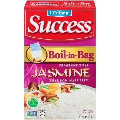 Success Boil-in-Bag Jasmine Rice - 14oz/4pk