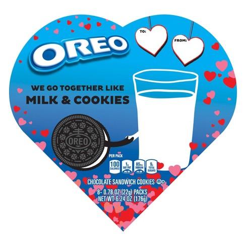 Oreo Valentine's Cookie Heart - 6.24oz - image 1 of 3