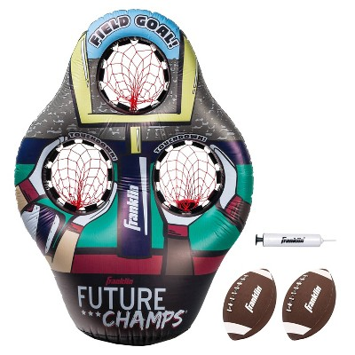 Franklin Sports Inflatable 3-Hole Football Target