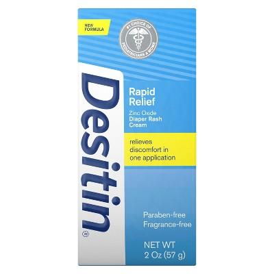 Desitin Rapid Relief Creamy Diaper Rash Ointment - 2oz
