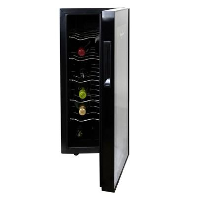 Koolatron 12-Bottle Thermo-Electric  Wine Cooler - White