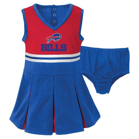 Buffalo Bills Toddler/Infant Cheerleader 18 M - image 1 of 2