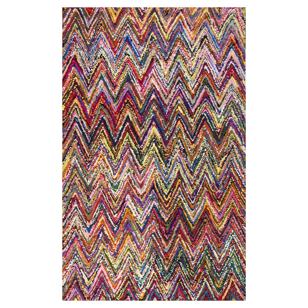 Solid Tufted Runner - (2'6x10') - nuLOOM, Multicolored