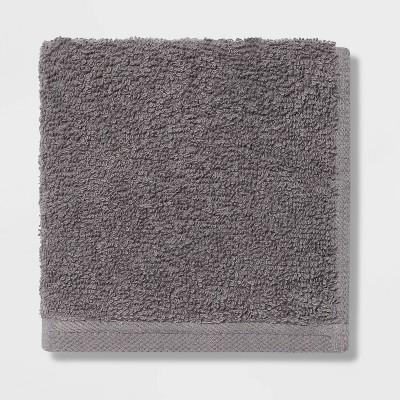 Everyday Washcloth Dark Gray - Room Essentials™