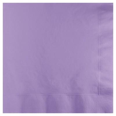 50ct Luscious Lavender Purple Disposable Napkins