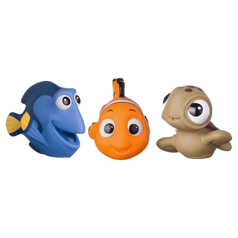 Disney Finding Nemo Squirtee Toys 3pk - image 1 of 4