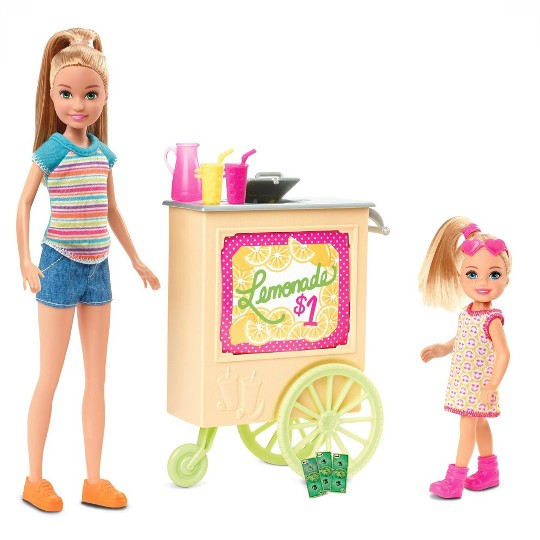 Barbie Team Stacie Lemonade Stand Doll Playset image number null