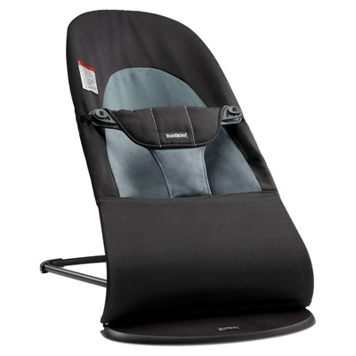 BABYBJÖRN Bouncer Balance Soft Cotton - Black/Dark Gray