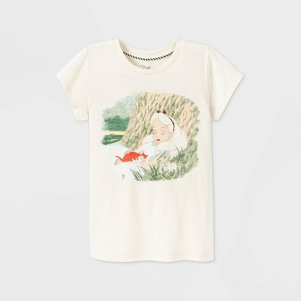 Top Girls' Disney Alice in Wonderland Short Sleeve Graphic T-Shirt -   - Disney Store