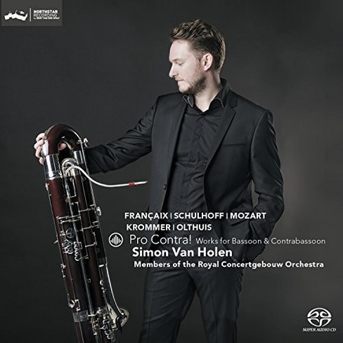 Simon Van Holen - Pro Contra:Works For Bassoon & Contra (CD) - image 1 of 1