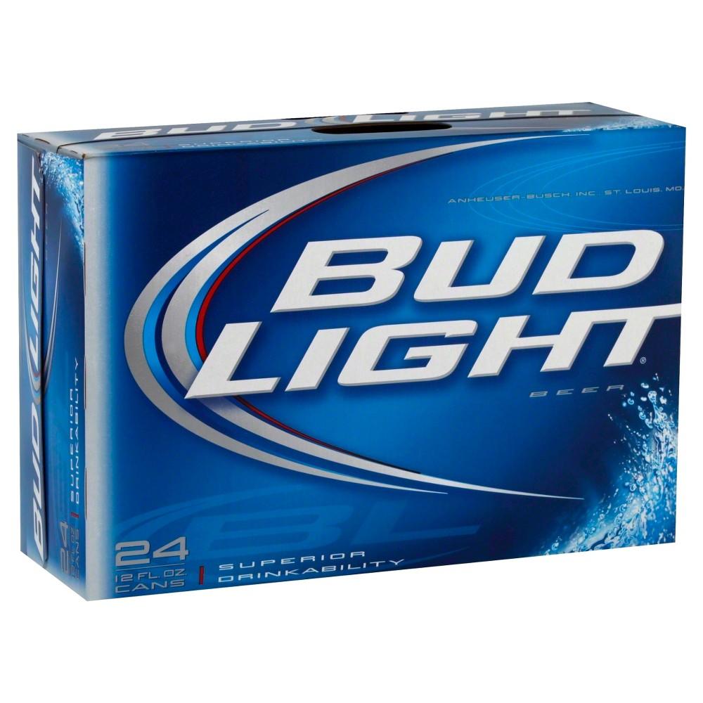 UPC 018200531682 - Bud Light Beer Cans 12 oz, 24 pk | upcitemdb com