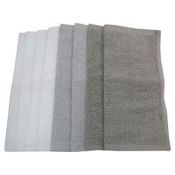 Washcloth Set Washcloth Set White/Gray - Pillowfort™