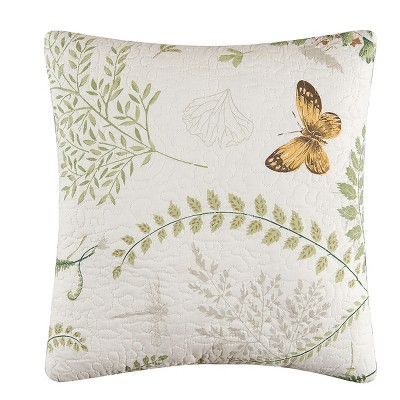 """C&F Home 14"""" x 14"""" Althea Quilted Pillow"""