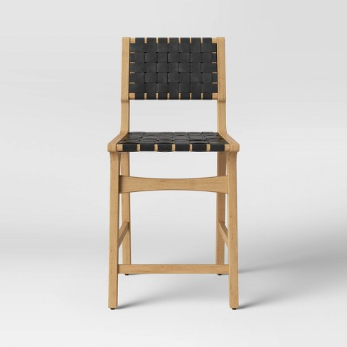 Ceylon Woven Counter Height Barstool - Opalhouse™ - image 1 of 4
