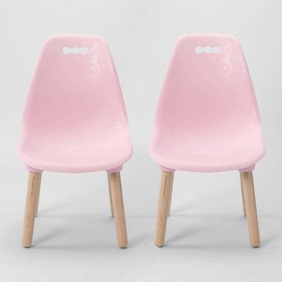 Set of 2 Kid Century Modern Kids' Chairs - B. Spaces