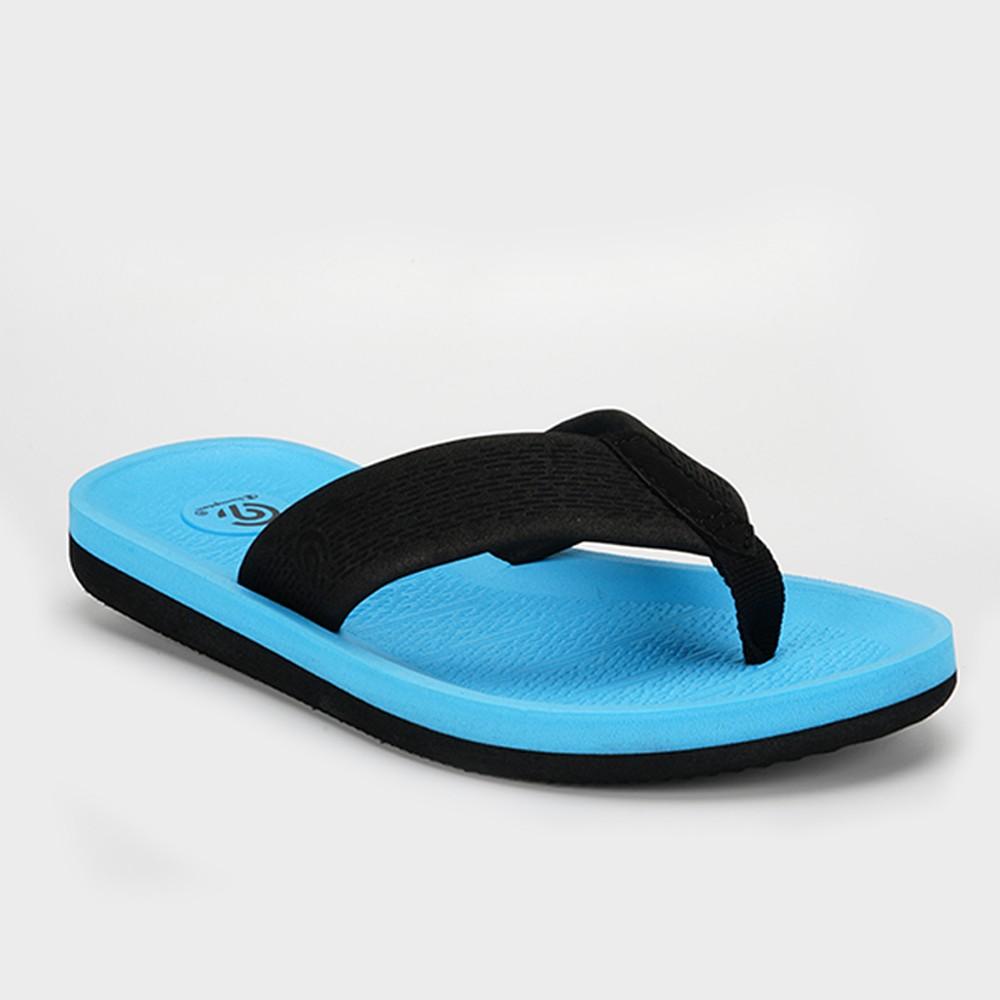 Image of Boys' Felipe Flip Flop Sandals - C9 Champion Aqua L, Boy's, Size: Large, Blue