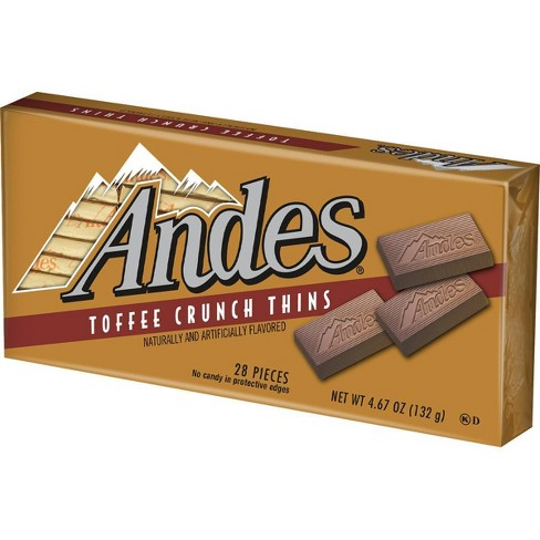 Andes Holiday Toffee Crunch Thins - 28ct/4.67oz - image 1 of 3
