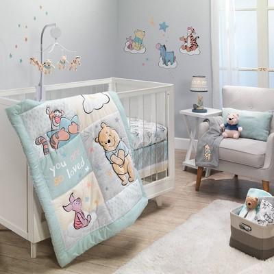 Bedtime Originals Winnie The Pooh Hugs Crib Bedding Set - 3pc