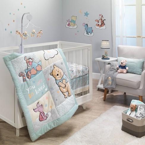 Bedtime Originals Winnie The Pooh Hugs, Pink Winnie The Pooh Baby Bedding