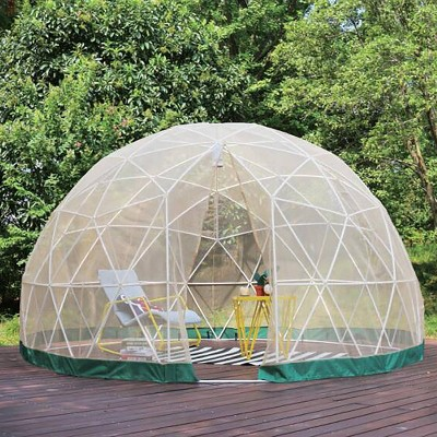 7'x12' Outdoor Dome with Shell, Mosquito Net & PVC Cover - TOYtally Awesome