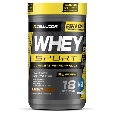 Cellucor Cor-Sport Whey Protein - Chocolate - 30 8oz