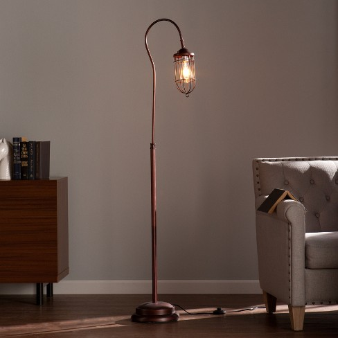 Taranis Floor Lamp Brushed Bronze (Includes Energy Efficient Light Bulb) - Aiden Lane - image 1 of 4