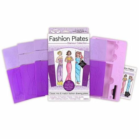 Kahootz, LLC Fashion Plates Expansion Packs Glamour - image 1 of 3
