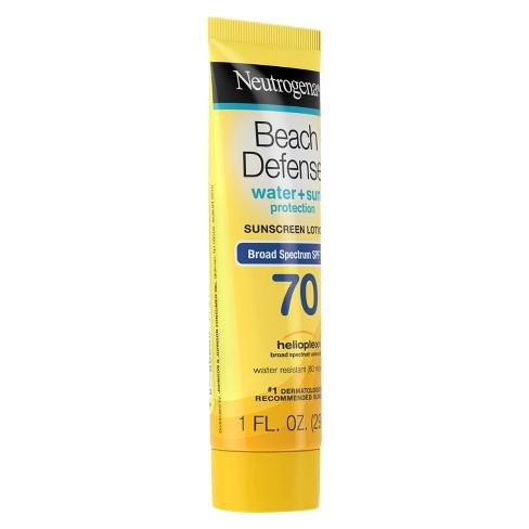 f81ca4ddb Neutrogena Beach Defense Broad Spectrum Sunscreen Lotion - SPF 70 - 1 fl oz