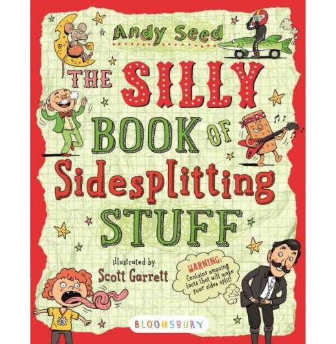 Silly Book of Sidesplitting Stuff (Paperback) (Andy Seed) - image 1 of 1