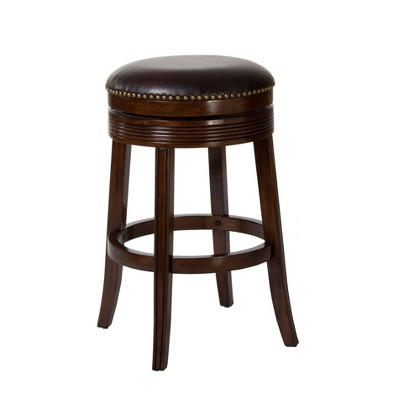 "30"" Tillman Swivel Barstool Wood/Cherry - Hillsdale Furniture"