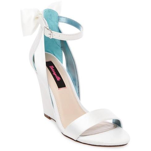 Women's Betseyville Petal Bow Back Wedge Heel Sandals - image 1 of 3