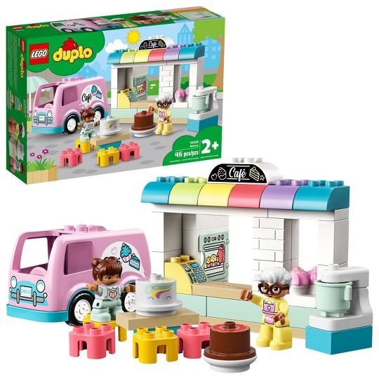 LEGO DUPLO Town Bakery 10928 Fun Developmental Toddler Toy image number null