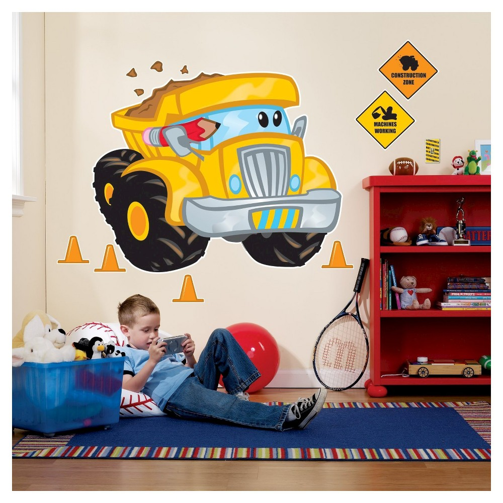 Image of Construction Pals Wall Decal