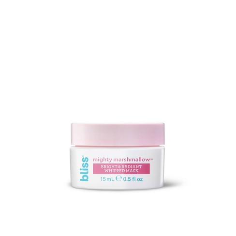 Bliss Mighty Marshmallow Bright & Radiant Face Mask - 0 5 fl oz
