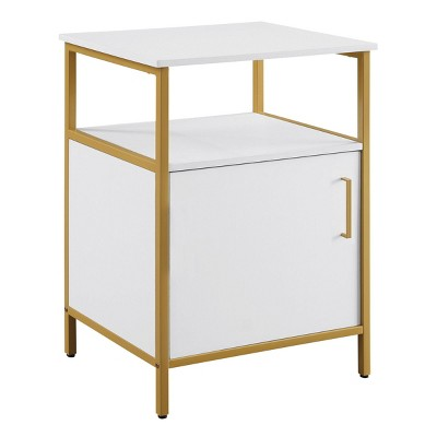 Modern Life Utility Table Printer Stand with Storage - OSP Home Furnishings