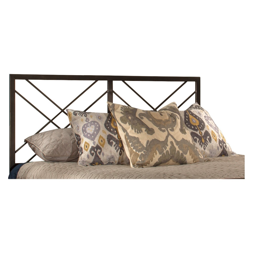 Westlake Metal Headboard Twin Magnesium Pewter Hillsdale Furniture