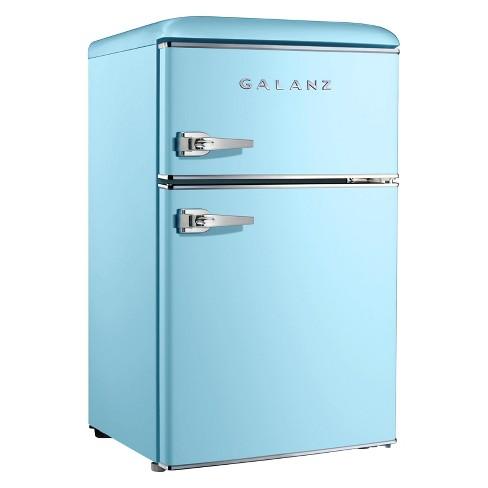 Galanz 3 1 Cu Ft Retro Mini Fridge